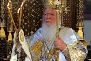 Χαιρετισμός με πολλά μηνύματα του Οικουμενικού Πατριάρχη κατά την Θρονική Εορτή