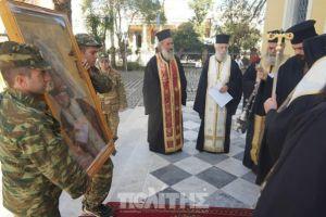 Στον Μητροπολιτικό Ναό Χίου η εικόνα της Παναγίας Σικελιάς