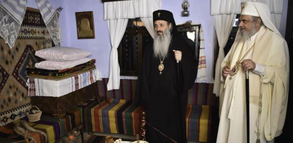 """You are currently viewing Το μουσείο  """"Πατριάρχης Θεόκτιστος"""", στο Μποτοσάνι  επισκέφθηκε ο  Πατριάρχης Ρουμανίας Δανιήλ"""