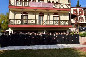 Γενική Ιερατική Σύναξη στην Ι.Μ. Λαγκαδά (ΦΩΤΟ)