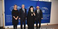 Σουλτς: Ιστορική η συνάντηση με τον Πατριάρχη Βαρθολομαίο