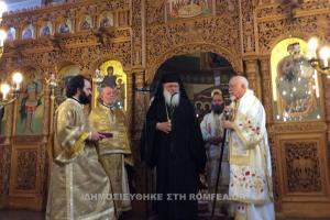 Τους Ορθόδοξους Ελληνες  της Γερμανίας ευχαρίστησε ο Αρχιεπίσκοπος Ιερώνυμος
