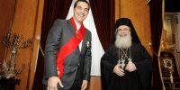 """Ο Πρωθυπουργός σε Θεόφιλο: """"Η Κυβέρνηση στηρίζει το έργο του Πατριαρχείου"""""""