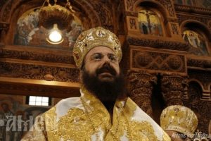Ανοίγει το Επισκοπείο για την εορτή του ο νέος Μητροπολίτης Τρίκκης Χρυσόστομος