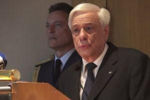 ΠτΔ από τη Χίο: «Η Ελλάδα έχει υποστεί μία σφαγή και δύο γενοκτονίες» [ΒΙΝΤΕΟ]