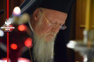 Μήνυμα συμπάθειας στον Γάλλο Πρόεδρο από τον Οικουμενικό Πατριάρχη