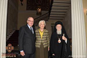 Συνάντηση Οικουμενικού Πατριάρχη με βασιλείς Αλβέρτο και Πάολα στις Βρυξέλλες (ΦΩΤΟ)