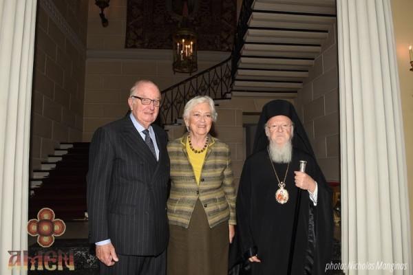 You are currently viewing Συνάντηση Οικουμενικού Πατριάρχη με βασιλείς Αλβέρτο και Πάολα στις Βρυξέλλες (ΦΩΤΟ)