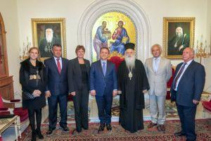 Από τη μία ο Φίλης αρνείται τη γενοκτονία των Ποντίων και από την άλλη ο Μητροπολίτης Βεροίας υποδέχεται τον Δήμαρχο Σηλυβρίας στην εστία των Ποντίων της Μακεδονίας