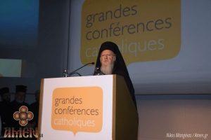 Βαρυσήμαντη ομιλία του Οικουμενικού Πατριάρχη στις Βρυξέλλες (ΦΩΤΟ)
