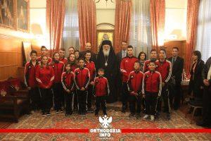 Aτμόσφαιρα Χριστουγέννων στην Αρχιεπισκοπή Αθηνών