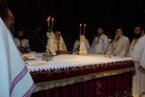 Την αρχαιοπρεπή Θεία Λειτουργία του Αγίου Ιακώβου του Αδελφοθέου τέλεσε ο Μητροπολίτη Κορίνθου Διονύσιος