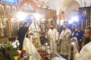 Εορτή του Αγίου Στεφάνου στην Ι.Μ. Καρυστίας