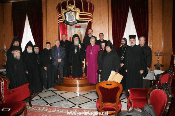 You are currently viewing Συνάντηση Αρχηγών των Εκκλησιών στο Πατριαρχείο Ιεροσολύμων