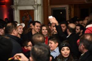 Μία επίσκεψη του Μπασάρ Αλ Άσαντ σε  Χριστιανική  Εκκλησία που αιφνιδίασε και θα συζητηθεί!