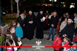 Παιδιά… τα έψαλλαν νωρίς στον Μητροπολίτη Γαβριήλ στην Καλογρέζα