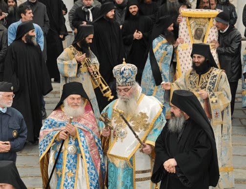 You are currently viewing Τον Γέροντα Εφραίμ ευχαριστεί η Ιερά Μητρόπολη Καστορίας