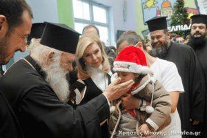 """Αρχιεπίσκοπος Ιερώνυμος: """"Η αγάπη προς το παιδί είναι πάνω από όλα"""" (ΦΩΤΟ)"""