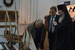 Ο Μητροπολίτης Κεφαλληνίας σε Έκθεση Τέχνης (ΦΩΤΟ)