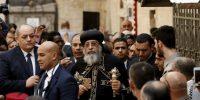 Σπάνια επίσκεψη του Κόπτη Πατριάρχη στα Ιεροσόλυμα