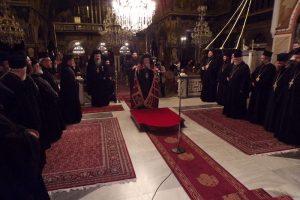 Με αγρυπνία υπέρ των μοναχικών προσώπων της ζωής, εορτάσθηκαν τα Χριστούγεννα στην Κόρινθο