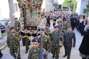 Τον πολιούχο του άγιο Σπυρίδωνα τίμησε η ιερά πόλη του Μεσολογγίου