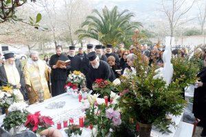 Εξάμηνο Μνημόσυνο Μητροπολίτου Κεφαλληνίας κυρού Γερασίμου