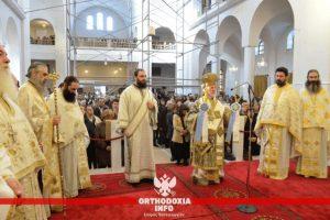 Χιλιάδες πιστών στο Μήλεσι για τον Όσιο Πορφύριο