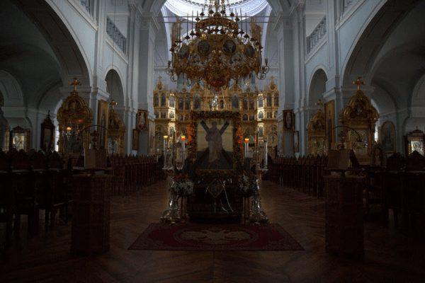 You are currently viewing Ο  Πατρών Χρυσόστομος στην πανήγυρη της Σκήτης του Αγίου Ανδρέα Αγίου Όρους