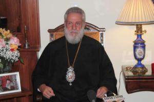 Σύρου Δωρόθεος Β ´ :«Η τοπική εκκλησία της Σύρου τιμά τον Αγιο Νικόλαο για τις ευεργεσίες του»