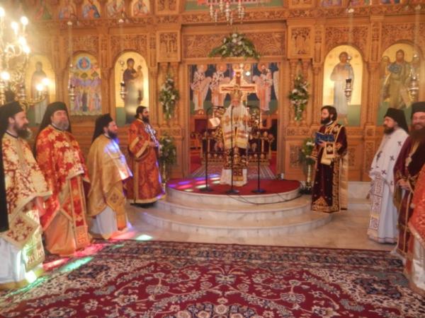 You are currently viewing Με λαμπρότητα η εορτή του μητροπολίτη Δημητριάδος Ιγνατίου