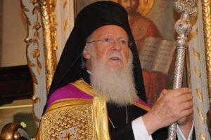 """Ο Οικουμενικός Πατριάρχης υπέρ του"""" Νόμπελ Ειεήνης"""" στους Νησιώτες του Αιγαίου"""