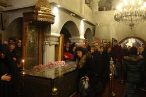 Πλήθος πιστών στους εορτασμούς για την εύρεση των Λειψάνων του Αγίου Εφραίμ