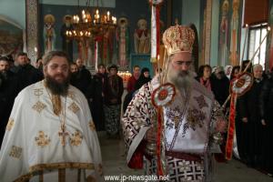 Εορτασμός του Αγίου Στεφάνου στον τόπο του λιθοβολισμού