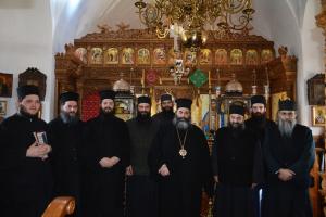 Ολοκληρώθηκε η επίσκεψη του μητροπολίτη Λαγκαδά Ιωάννη,στο Άγιο Όρος