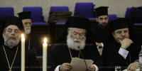 Η αντιφώνηση  του Πατριάρχη Αλεξανδρείας Θεοδώρου Β ´, στην Σύναξη των Προκαθημένων