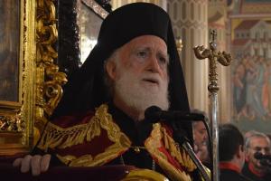 Ο Αρχιεπίσκοπος Κρήτης στην Ιερά Μονή Κύκκου (ΦΩΤΟ)