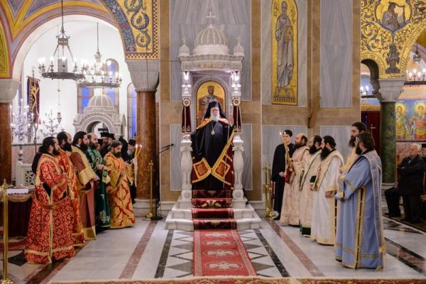 Χειροτονία Διακόνου στην Ιερά Μητρόπολη Πατρών (ΦΩΤΟ)