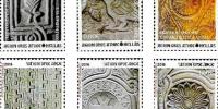 Τα μαρμάρινα γλυπτά του Αγίου Όρους στα γραμματόσημα των ΕΛΤΑ