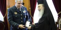 Ο Αρχηγός ΓΕΑ στο Πατριαρχείο Ιεροσολύμων