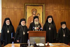 Συνεδρίασε η Ιερά Σύνοδος του Πατριαρχείου Αντιοχείας