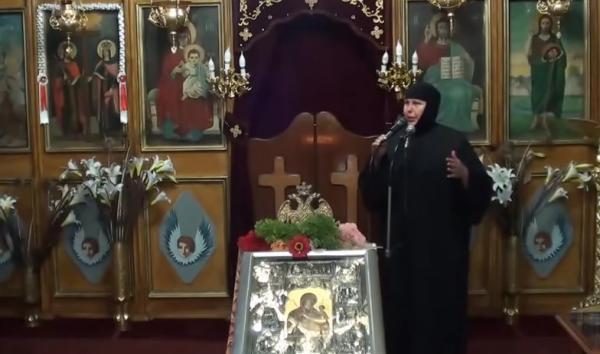 """Ηγουμένη  Άννα: """"Ο Άγιος Πορφύριος ήθελε την Εκκλησία νοσοκομείο εκτάκτου ανάγκης"""""""