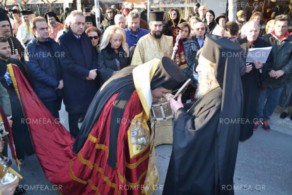 Η Καλαμαριά υποδέχθηκε την Κάρα του Οσίου Γεωργίου του Καρσλίδη (ΦΩΤΟ)