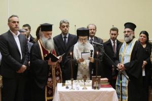 Με την παρουσία του μητροπολίτη Παύλου, η κοπή βασιλόπιτας στο Δήμο Γλυφάδας