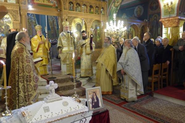 Την μνήμη του μεγάλου αγιορείτη μοναχού Θεόκλητου Διονυσιάτη,τίμησε η μητρόπολη Ναυπάκτου