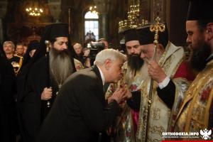 Δοξολογία για το νέο έτος από τον Αρχιεπίσκοπο