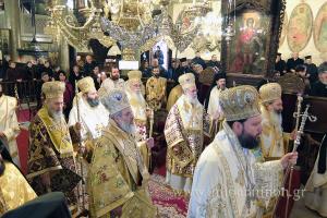 Πλήθος Ιεραρχών και ο Αρχιεπίσκοπος στα ονομαστήρια του Ιωαννίνων Μαξίμου