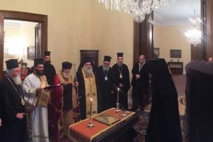 Η διαβεβαίωση του νέου Μητροπολίτη Πέτρας και Χερρονήσου ενώπιον του Προέδρου της Δημοκρατίας
