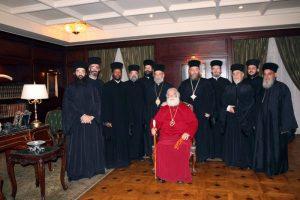 Η Πρωτοχρονιά στο Πατριαρχείο Αλεξανδρείας