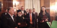 Η Σερβική Πρεσβεία τίμησε τον ακάματο Πρωτοπρ. Κυριακό Τσουρό